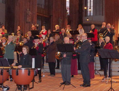 St. Marien fest in Jagdbläser-Hand