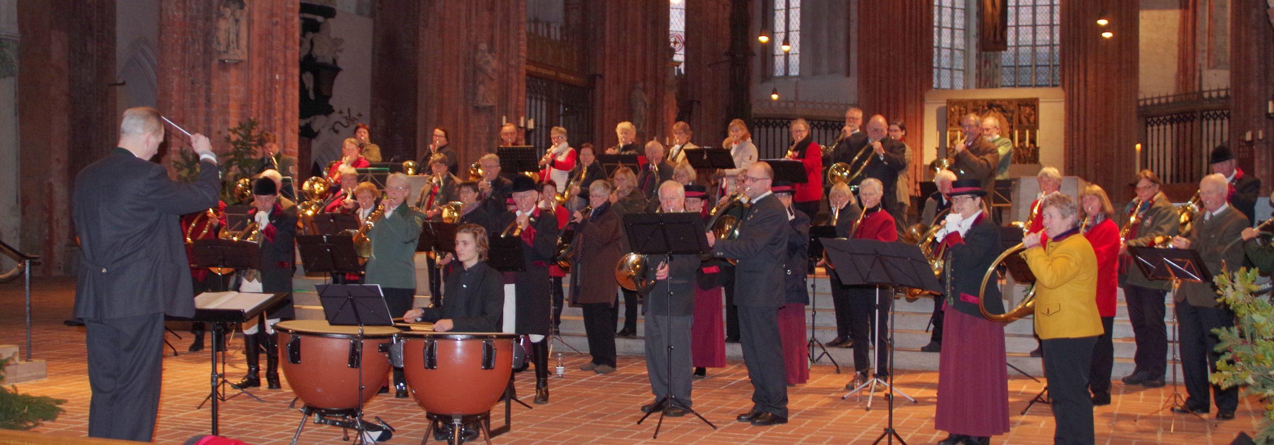 St. Marien fest in Jagdbläser-Hand – Landesjagdverband Schleswig-Holstein e.V.