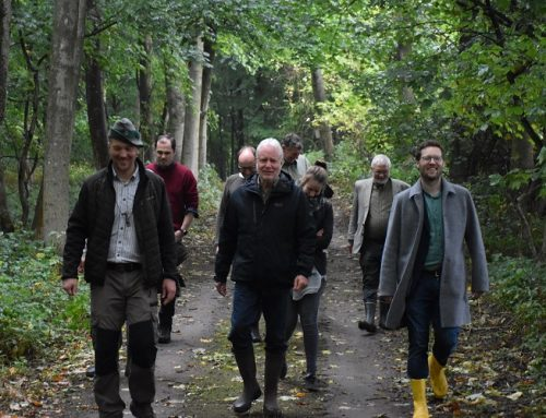 Ministerbesuch im Hegelehrrevier: Umweltminister Jan Philipp Albrecht zu Gast
